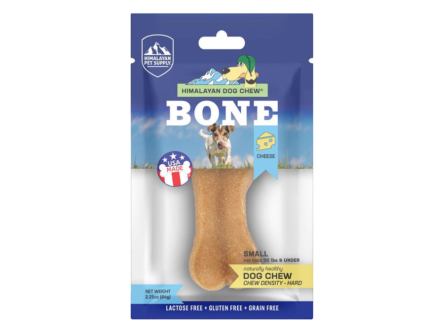 HIMALAYAN PET SUPPLY<br>Bone Cheese Chew<br>Hard Density Dog Treats