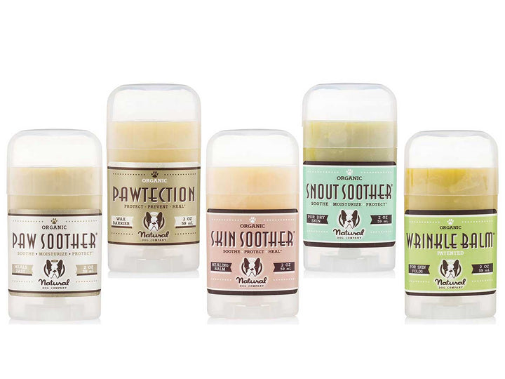 $5 OFF 🎉 NATURAL DOG COMPANY<br>Paw, Face & Skin<br>Organic Healing Balms
