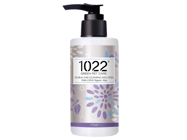 15% OFF ⏰ 1022 GREEN PET CARE<br>Floral Ear Cleansing Solution<br>Dog/Cat Cleanser