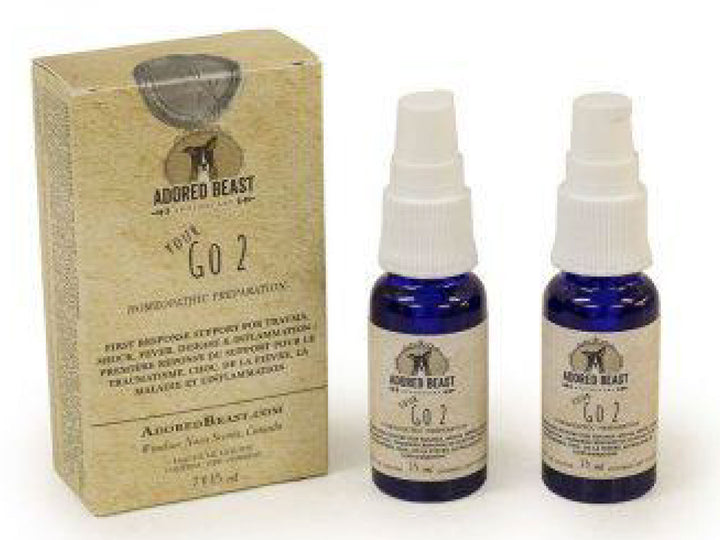 ADORED BEAST<br>Your Go 2<br>First Aid Acute Remedy<br>Dog Homeopathy Supplement