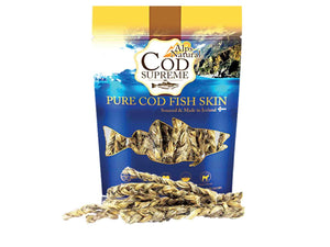 ALPS NATURAL<br>100% Cod Fish Skin Twists<br>Dehydrated Dog Treats<br>⭐️ 2 FOR $15 ⭐️