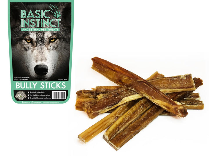 17% OFF ⏰ BASIC INSTINCT<br>100% Air Dried Beef Bully Sticks<br>Dog Chew Treats