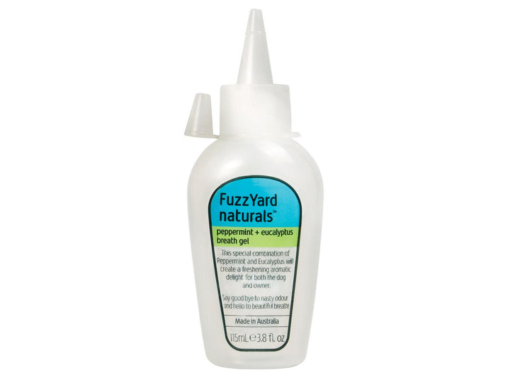 10% OFF ⏰ FUZZYARD<br>Peppermint + Eucalyptus<br>Dog Breath Gel