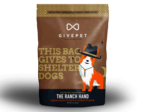 GIVEPET<br>GRAIN FREE Small Batch<br>Dog Cookie Treats<br>⭐️ 4 for $49 ⭐️