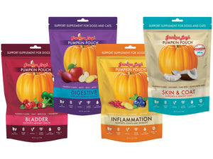 10% OFF ⏰ GRANDMA LUCY'S<br>Grain Free Pumpkin Pouch<br>Dog/Cat Supplements