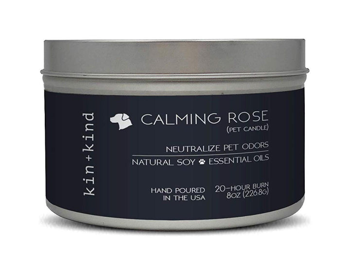 KIN+KIND<br>Calming Rose<br>Deodorising Pet Odor Candle