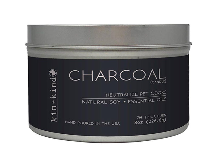20% OFF ⏰ KIN+KIND<br>Charcoal<br>Deodorising Pet Odor Candle