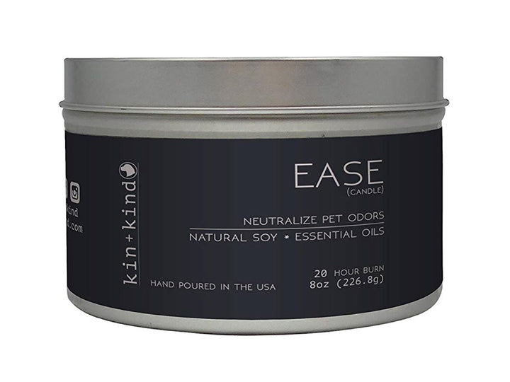 20% OFF ⏰ KIN+KIND<br>Ease<br>Deodorising Pet Odor Candle
