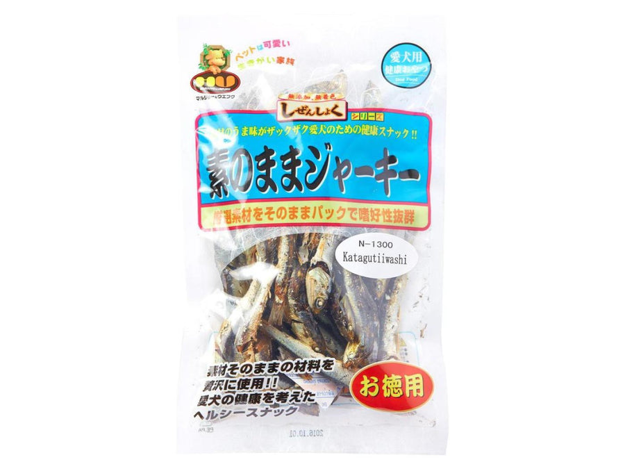 MARUJYO & UEFUKU<br>Niboshi Small Sardines<br>Dehydrated Dog Treats<br>⭐️ 3 FOR $20 ⭐️