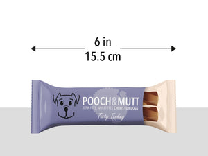 POOCH & MUTT<br>Tasty Turkey Junk-Free Chews