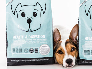 19% OFF ⏰ POOCH & MUTT<br>GRAIN FREE Health & Digestion Salmon<br>Dry Dog Food