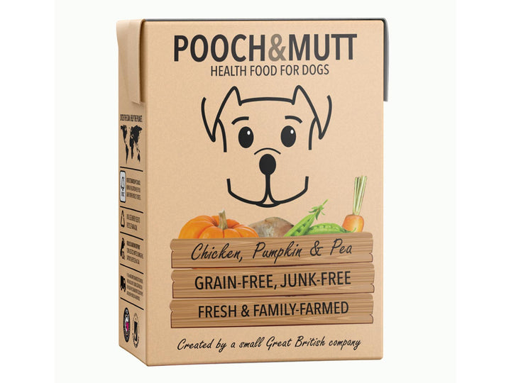 20% OFF ⏰ POOCH & MUTT<br>GRAIN FREE Chicken, Pumpkin & Pea<br>Wet Dog Food