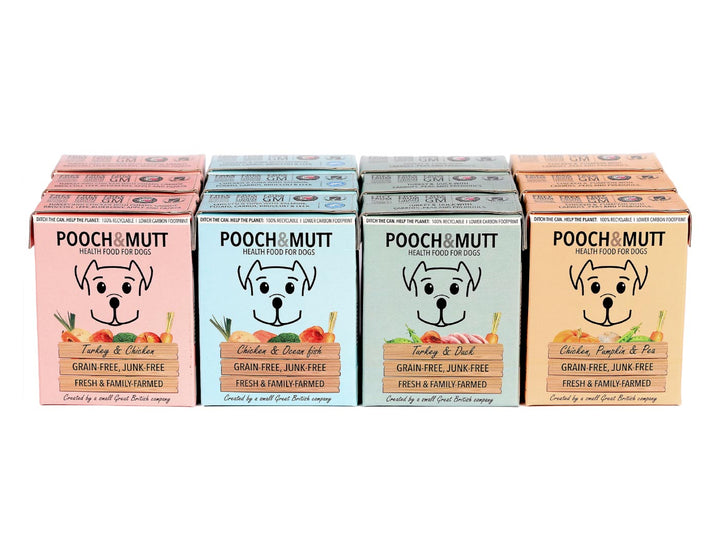 22% OFF ⏰ POOCH & MUTT<br>GRAIN FREE Multipack x 12<br>Wet Dog Food