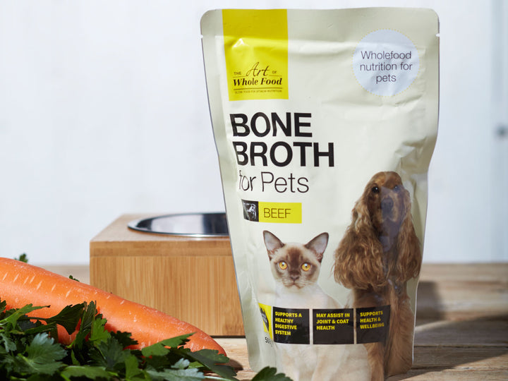 20% OFF ⏰ THE ART OF WHOLE FOOD<br>Beef Bone Broth<br>Dog/Cat Soup Topper