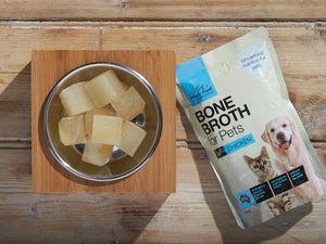 20% OFF ⏰ THE ART OF WHOLE FOOD<br>Chicken Bone Broth<br>Dog/Cat Soup Topper