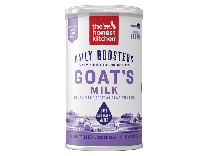 15% OFF ⏰ THE HONEST KITCHEN<br>Daily Boosters Goat's Milk + Probiotics<br>Dog/Cat Supplement