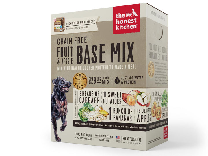 15% OFF ⏰ THE HONEST KITCHEN<br>GRAIN FREE Fruit & Veggie Base Mix<br>Preference Dehydrated Dog Food