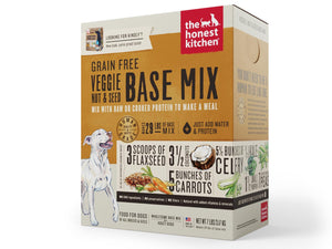 15% OFF ⏰ THE HONEST KITCHEN<br>Grain Free Veggie Base Mix<br>Dehydrated Wet Dog Food
