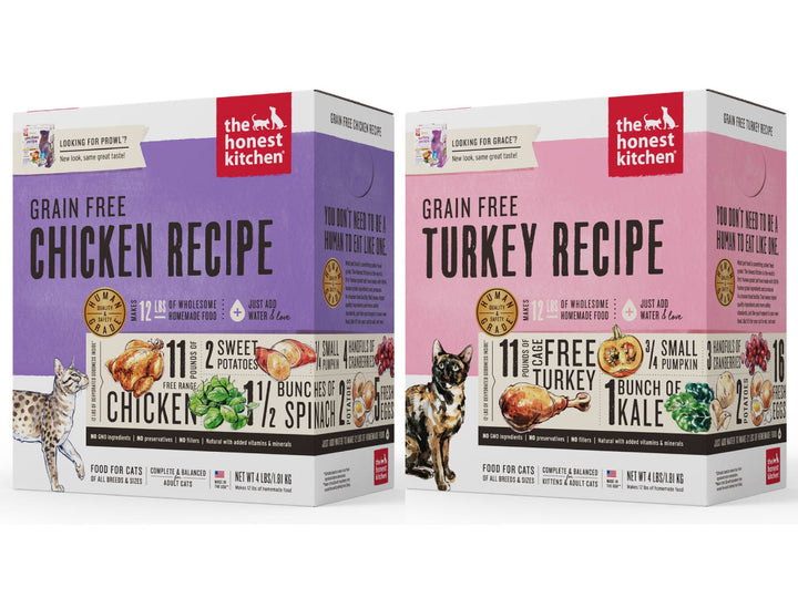15% OFF ⏰ THE HONEST KITCHEN<br>Grain Free<br>Dehydrated Wet Cat Food