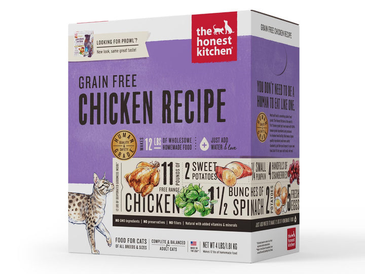15% OFF ⏰ THE HONEST KITCHEN<br>GRAIN FREE Chicken<br>Prowl Dehydrated Cat Food