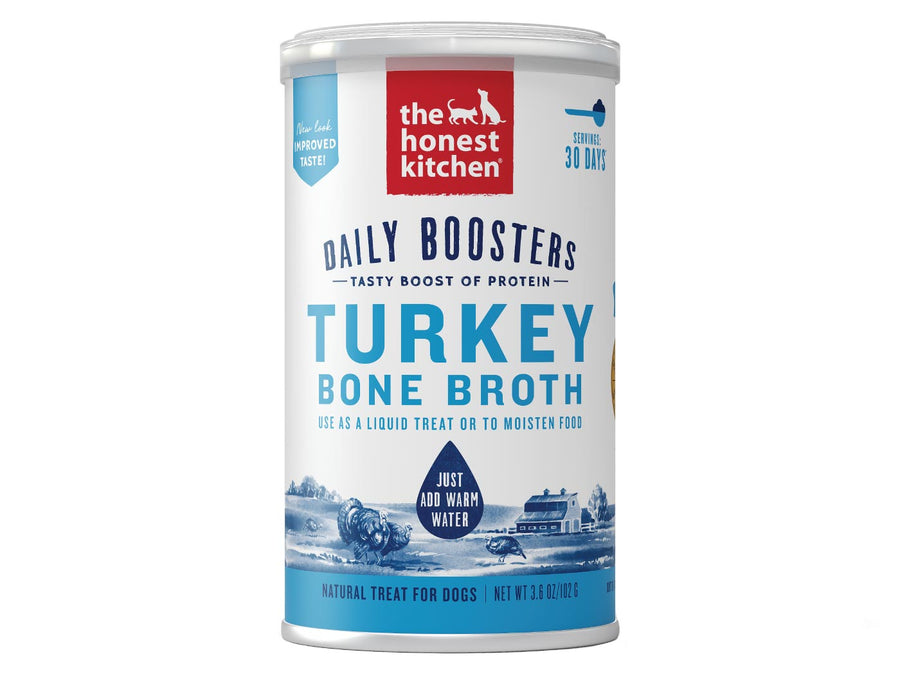 15% OFF ⏰ THE HONEST KITCHEN<br>Daily Boosters Turkey Bone Broth<br>Dog Supplement