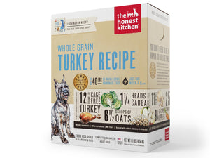 15% OFF ⏰ THE HONEST KITCHEN<br>Whole Grain Turkey<br>Keen Dehydrated Dog Food