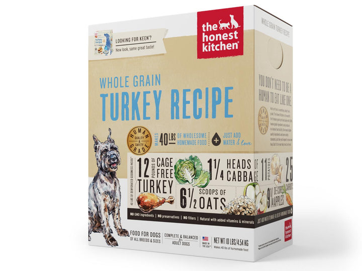 15% OFF ⏰ THE HONEST KITCHEN<br>Whole Grain Turkey Keen<br>Dehydrated Wet Dog Food