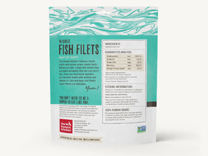 15% OFF ⏰ THE HONEST KITCHEN<br>Wishes Fish Filets<br>Dehydrated Dog Chew Treats