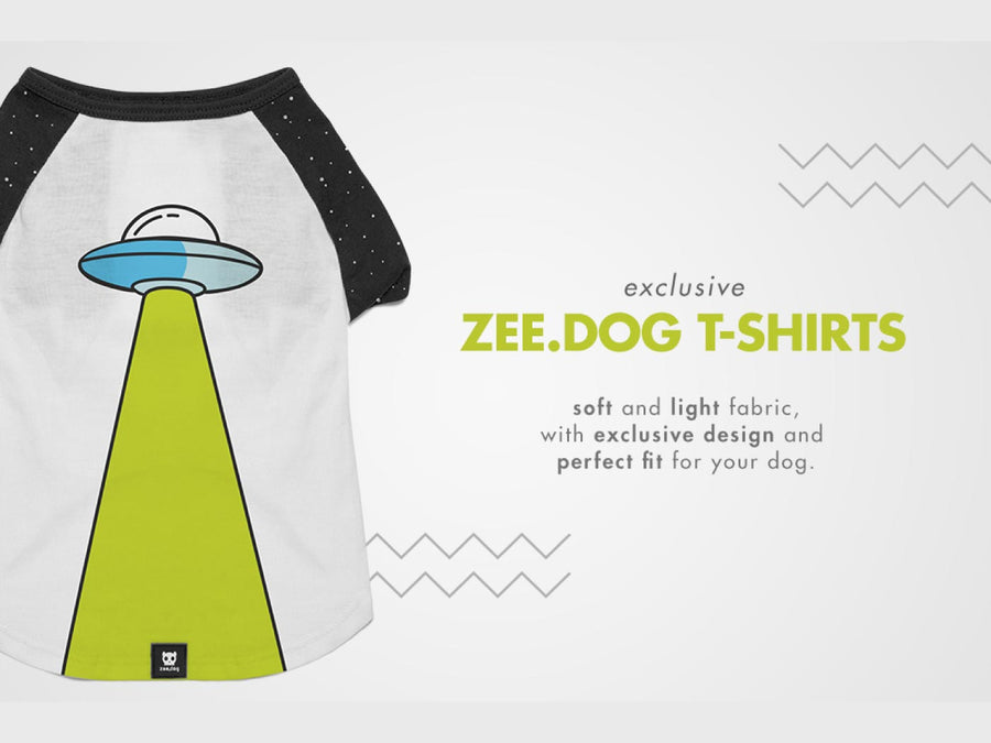 ZEE.DOG<br>Area 51 Dog T-Shirt