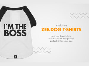ZEE.DOG<br>I'm The Boss Dog T-Shirt