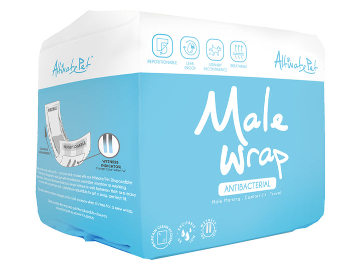 ALTIMATE PET<br>Antibacterial Disposable<br>Male Wraps<br>⭐️ 4 FOR $29.90 ⭐️