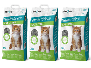 Breeder Celect<br>99.9% Recycled Paper<br>Odour Control Cat Litter<br>⭐️ 2 FOR $55 ⭐️