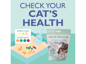 10% OFF ⏰ CAT LITTER COMPANY<br>Health Indicator & Deodorizer<br>Urine Detector<br>⭐️ 6 FOR $35 ⭐️