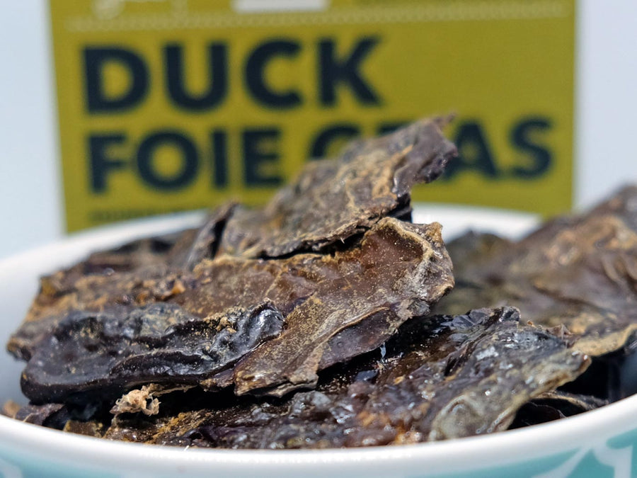 LOYALTY PET TREATS<br>Dehydrated Duck Foie Gras<br>Dog/Cat Treats