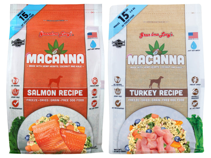 10% OFF ⏰ GRANDMA LUCY'S<br>Grain Free Macanna<br>Freeze Dried Dog Food