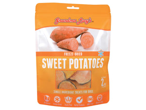 12% OFF ⏰ GRANDMA LUCY'S<br>100% Sweet Potatoes<br>Freeze Dried Dog Treats