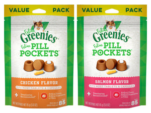16% OFF ⏰ GREENIES<br>Feline Pill Pockets<br>Cat Treats for Capsules & Tablets