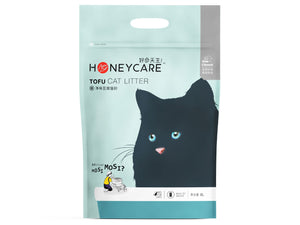11% OFF ⏰ HONEY CARE<br>Unscented Clumping Tofu Cat Litter<br>Flushable & Biodegradable