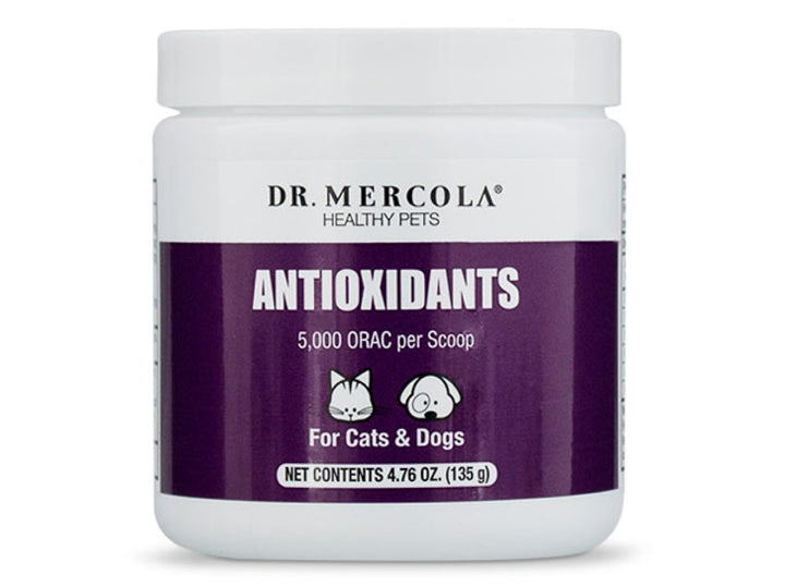 DR. MERCOLA<br>Antioxidants<br>Immunity & Cellular Aging<br>Dog/Cat Supplement