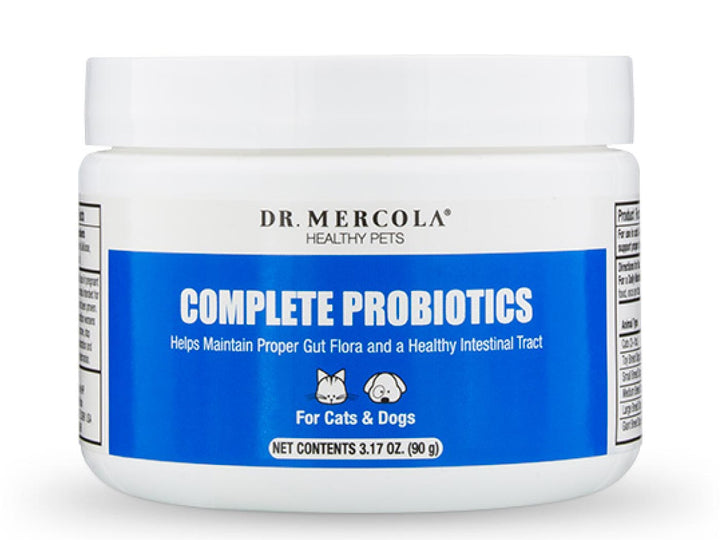 DR. MERCOLA<br>Complete Probiotics<br>Digestive & Immunity<br>Dog/Cat Supplement