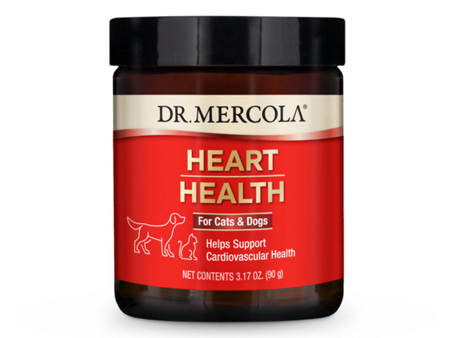 DR. MERCOLA<br>Heart Health<br>Cardiovascular Support<br>Dog/Cat Supplement