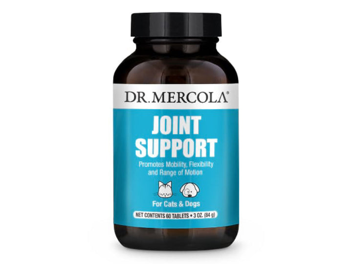 DR. MERCOLA<br>Joint Support<br>Mobility & Flexibility<br>Dog/Cat Supplement