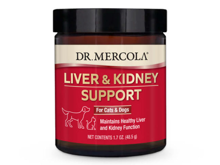 DR. MERCOLA<br>NEW Liver & Kidney Support<br>Dog/Cat Supplement