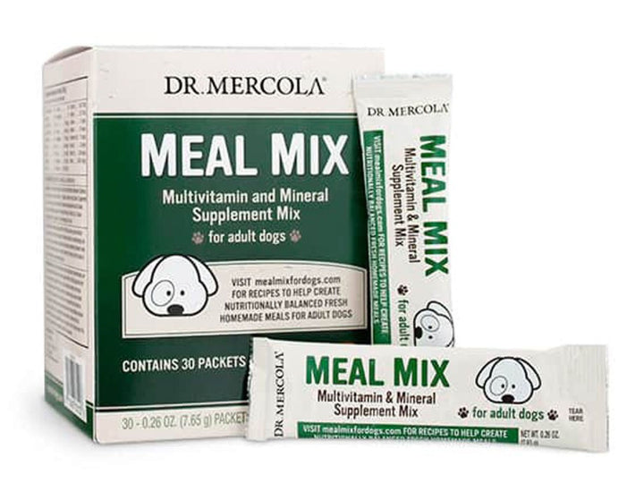 DR. MERCOLA<br>Meal Mix<br>Multivitamin & Mineral Dog Supplement