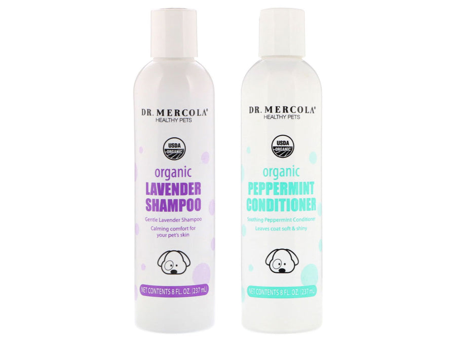 DR. MERCOLA<br>Organic Lavender Gentle Calming<br>Puppy & Dog Shampoo