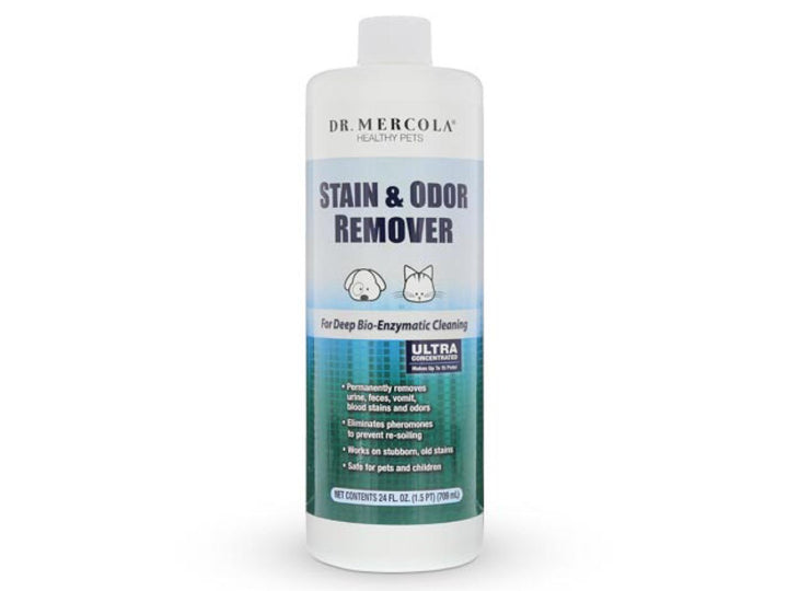 DR. MERCOLA<br>Pet Stain & Odor Remover<br>Deep Bio-Enzymatic Home Cleaner