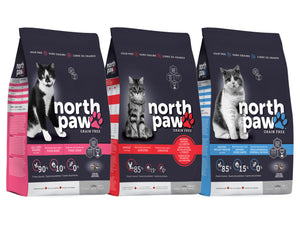 20% OFF ⏰ NORTH PAW<br>Grain Free<br>Dry Cat Food