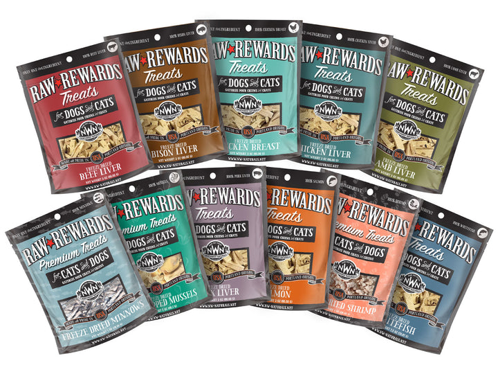 21% OFF ⏰ NORTHWEST NATURALS<br>Single Ingredient Raw Rewards<br>Freeze Dried Dog/Cat Treats/Toppers