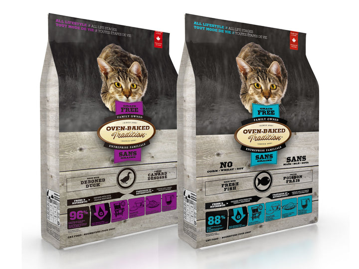 25% OFF ⏰ OVEN-BAKED TRADITION<br>Grain Free<br>Dry Cat Food