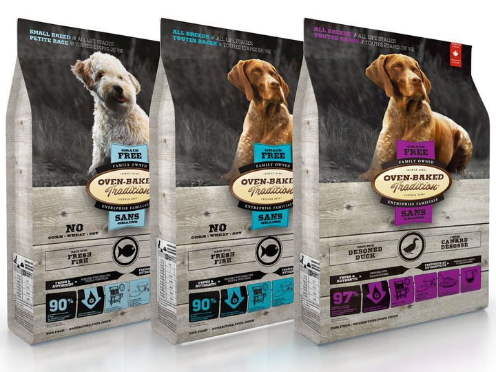 25% OFF ⏰ OVEN-BAKED TRADITION<br>Grain Free<br>Dry Dog Food